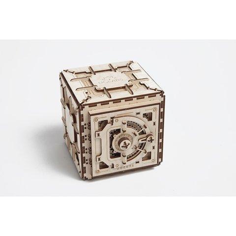Механічний 3D-пазл UGEARS Сейф